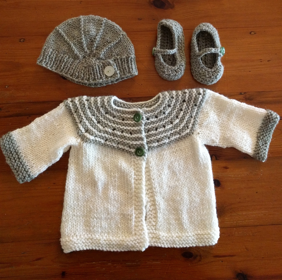 An Extensive Knitted Layette, and Reflections on a Life Unlived