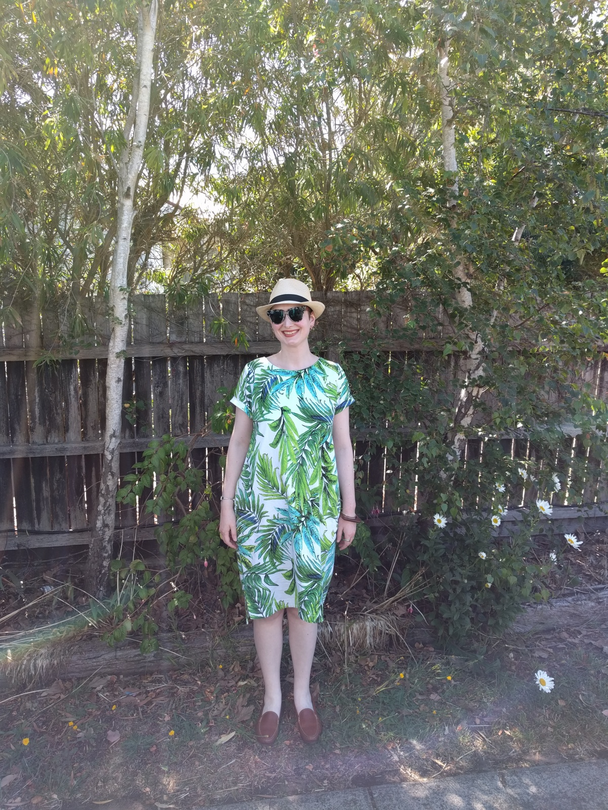The Little Dress That Could – Inari Tee Dress for JungleJanuary