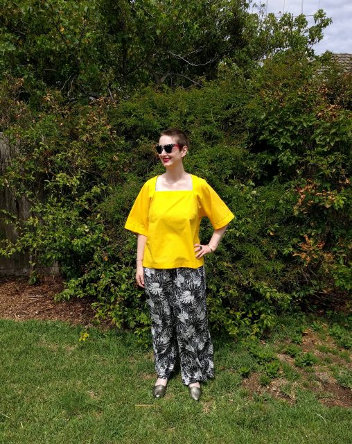 Burda Bat Sleeve Shirt 04/2015#123B