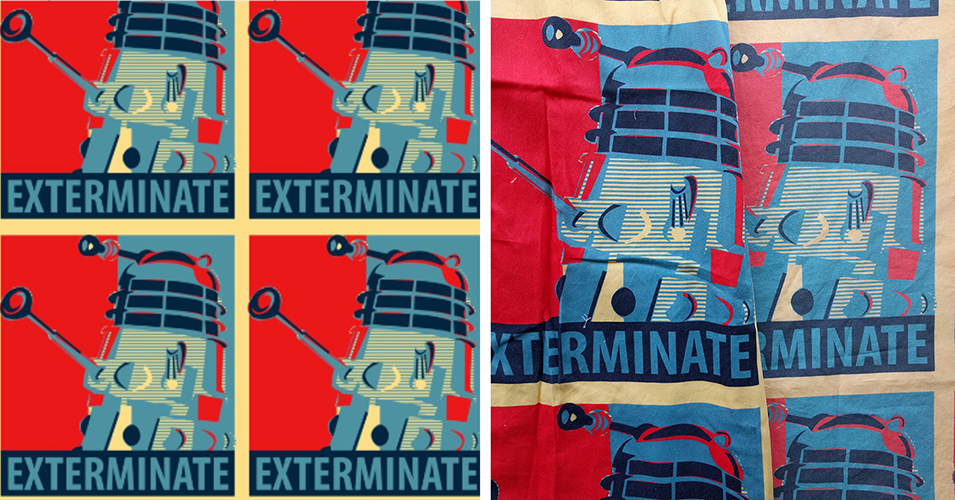 A Dalek Outfit, and 10 Things I Hate About Spoonflower