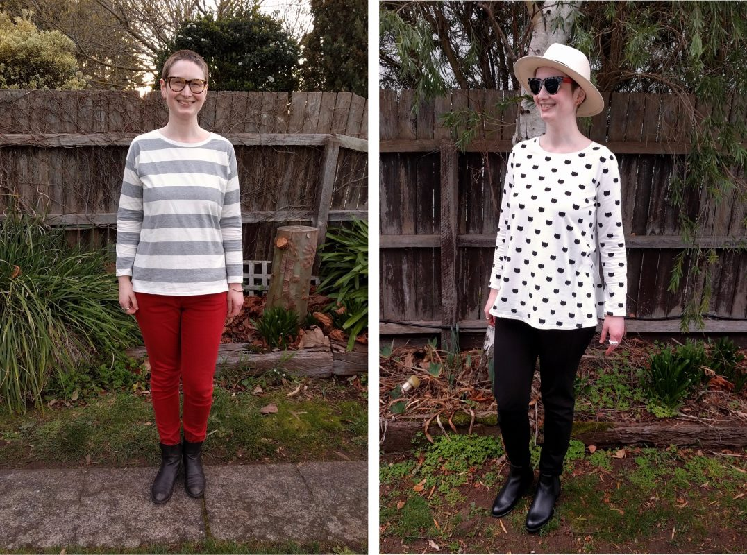 Two Winter Tops – Frankie and Hemlock