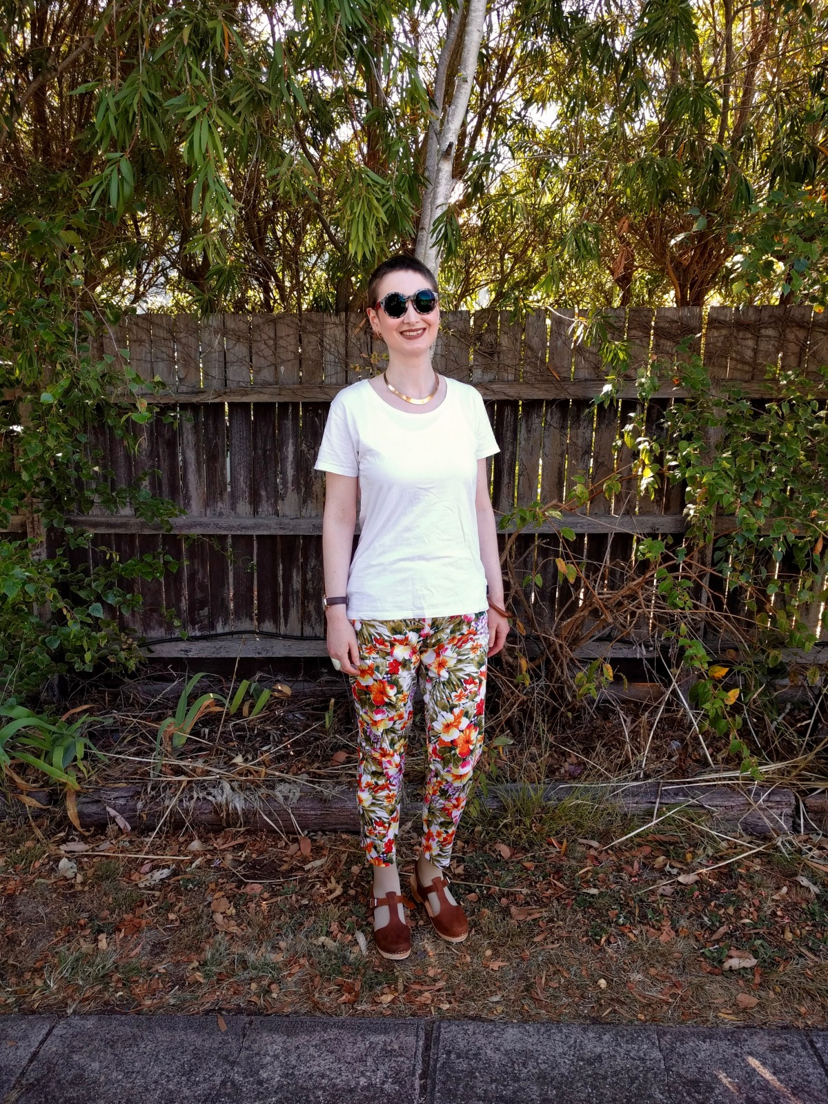 Ottobre 5/2015 #11 – Pencil shape printed pants